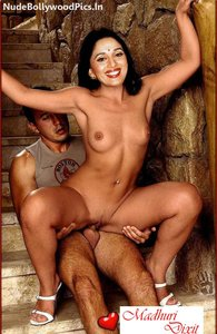 Madhuri Dixit Nude Showing her Big Boobs n Pussy n Taking Dick [Fake]