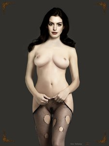 i73tjutq15py t Anne Hathaway Fake Nude and Sex Picture