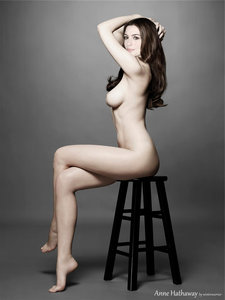ttom4ft3mxhg t Anne Hathaway Fake Nude and Sex Picture